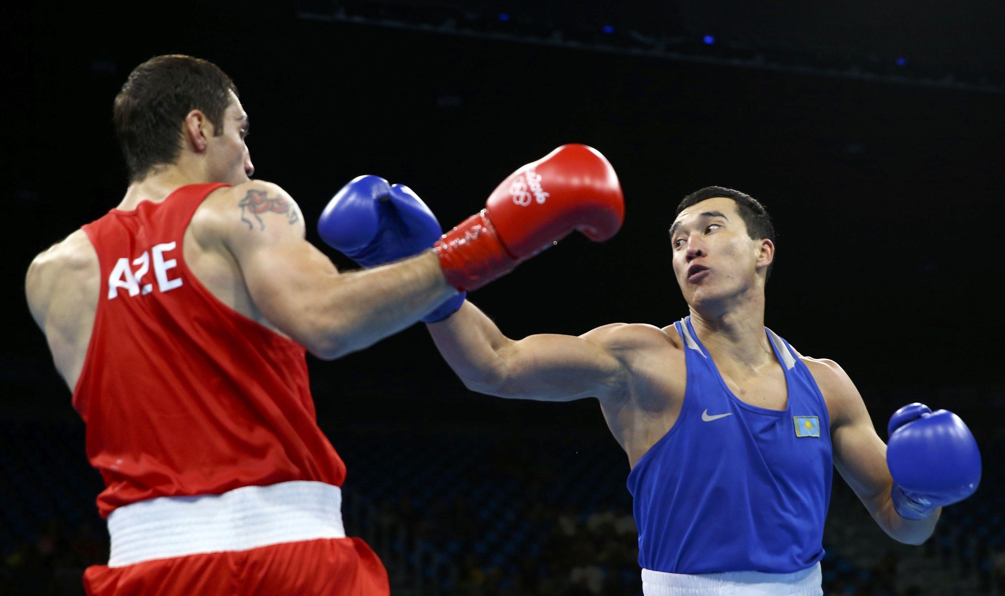 Казахстанский боксер Адильбек Ниязымбетов