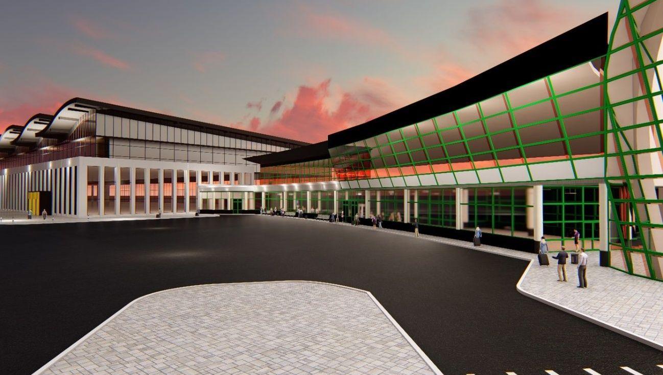 Проект переходной галереи в аэропорту Нур-Султана