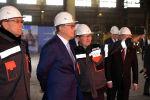 Президент Казахстана Касым-Жомарт Токаев посетил Актюбинский завод ферросплавов АО ТНК Казхром