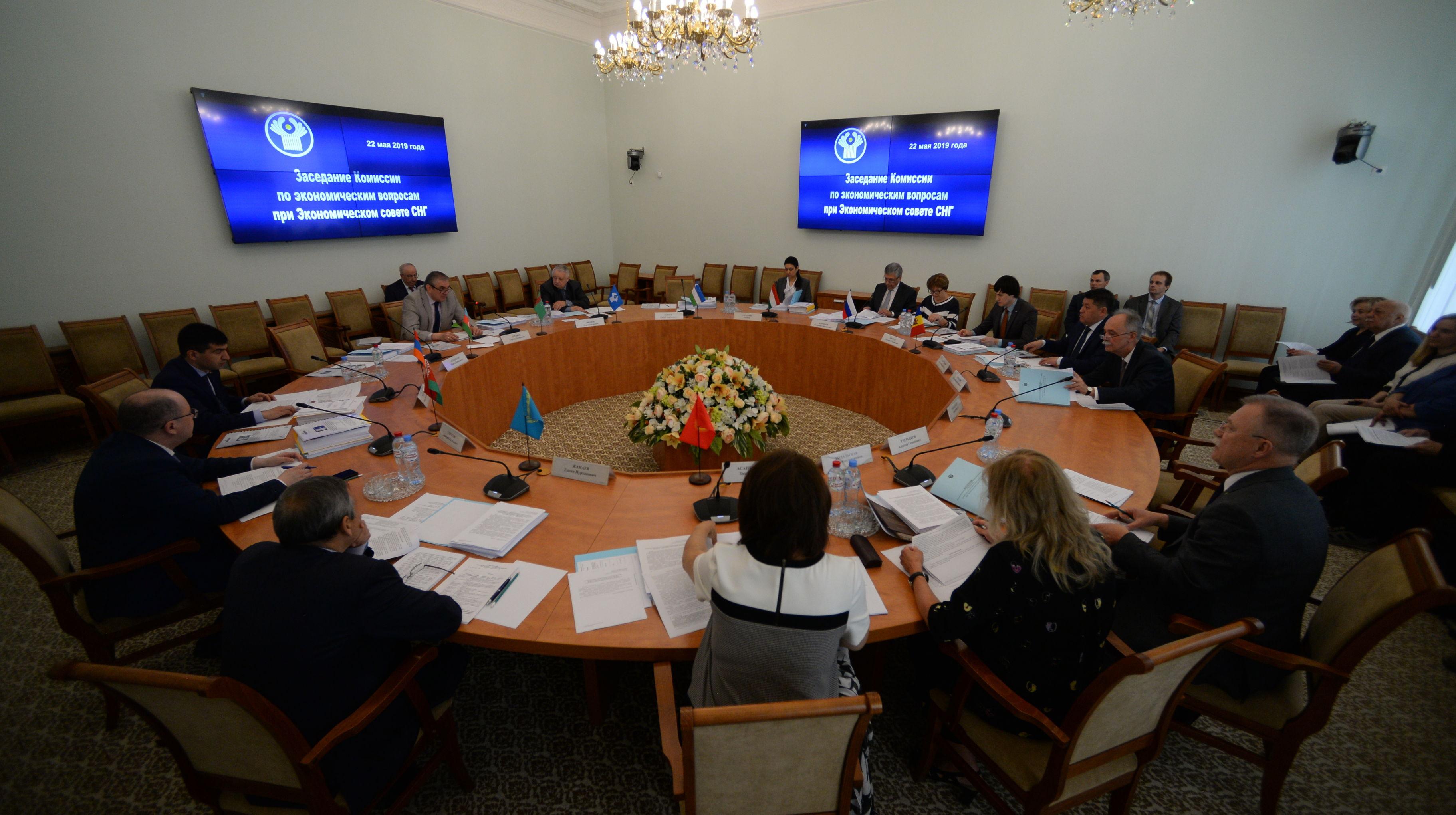 Комиссия по экономическим вопросам при Экономическом совете СНГ обсудила создание базовой организации общественного здравоохранения государств-участников СНГ