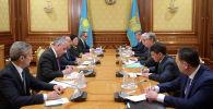 Президент Казахстана Касым-Жомарт Токаев принял министра иностранных дел Турецкой Республики Мевлюта Чавушоглу