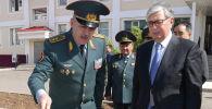 Глава государства Касым-Жомарт Токаев посетил воинскую часть Национальной гвардии