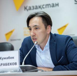 Эксперт Института мировой экономики и политики при Фонде Первого Президента РК Жумабек Сарабеков