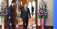 Премьер-министр Армении Никол Пашинян прибыл на саммит ЕАЭС