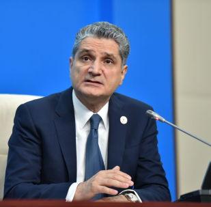 Председатель коллегии ЕЭК Тигран Саркисян на расширенном заседании ВЕЭС