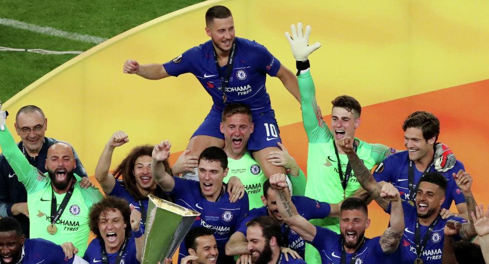 Футболисты Челси разгромили Арсенал в лондонском дерби в рамках финала Лиги Европы и стали победителями турнира сезона-2018/19