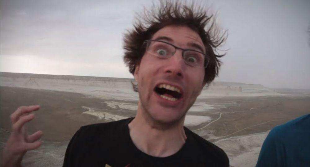У туристов волосы встали дыбом на урочище Босжира