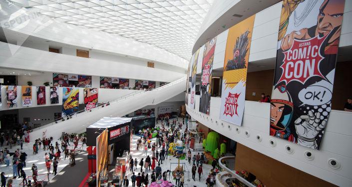Фестиваль проходит на территории выставки ЭКСПО-2017
