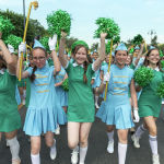 Участники парада детских оркестров