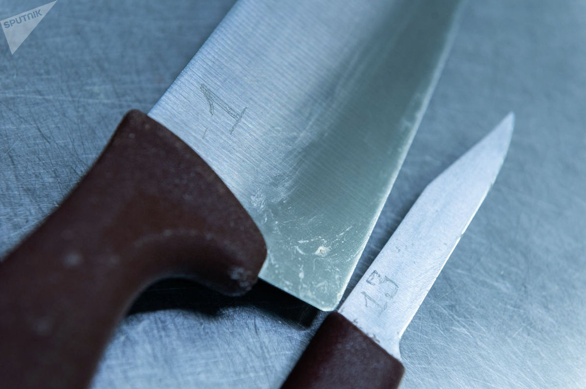 Политика ножей. Каждый нож имеет свой индивидуальный номер Центр бортового питания