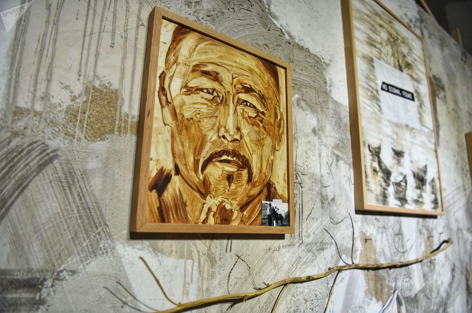 Живописная инсталляция Диалоги памяти
