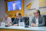 Видеомост Межгосударственная программа инновационного сотрудничества в странах СНГ: достижения, перспективы, успешные проекты в пресс-центре Sputni