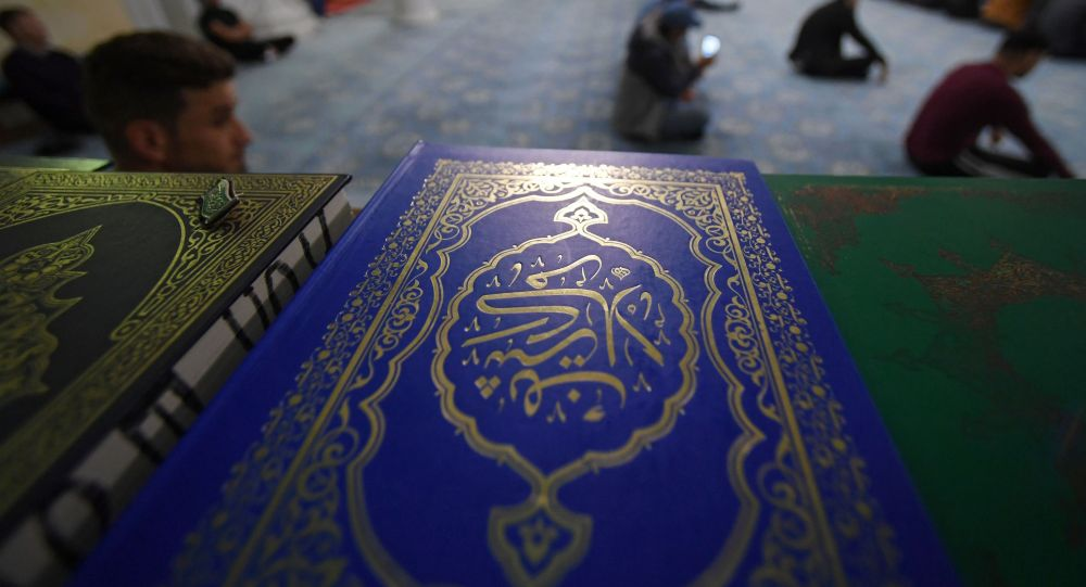 Книги в мечети