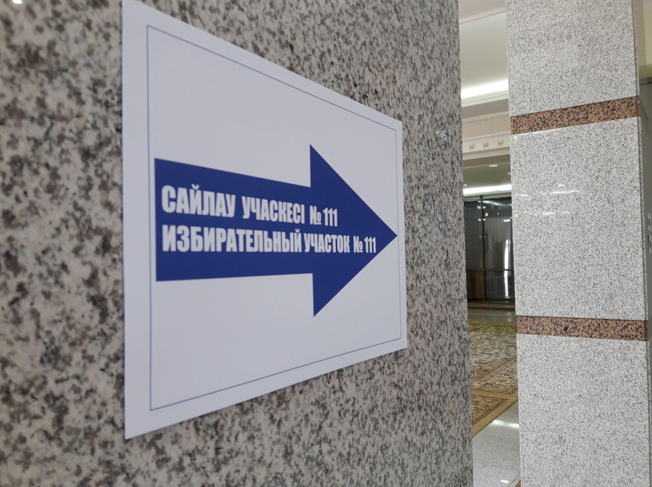 Указатель Избирательный участок