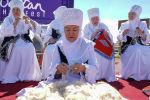 Участницы ансамбля Шанырак на этнофестивале Nur-Sultan Ethno Fest