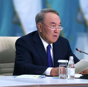 Внеочередной ХІХ Съезд партии Nur Otan под председательством Нурсултана Назарбаева