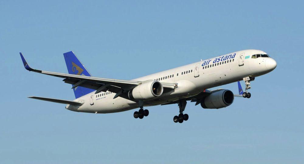 Самолет авиакомпании Air Astana