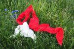 Цветные шарфы, иллюстративное фото