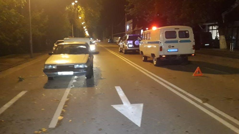 Мазда сбила женщину на пешеходном переходе