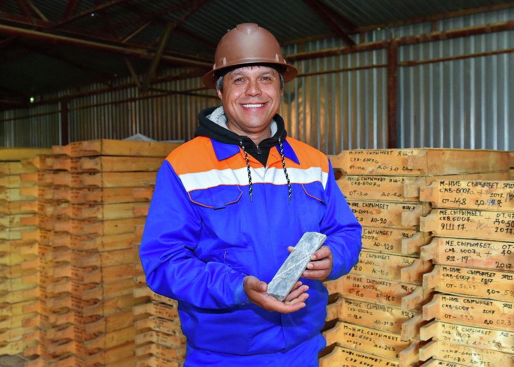 На месторождении Сырымбет в Северном Казахстане началась добыча олова