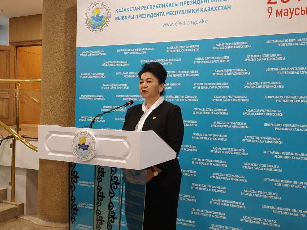 Депутат законодательной палаты Олий мажлиса Республики Узбекистан Нурия Айтжанова
