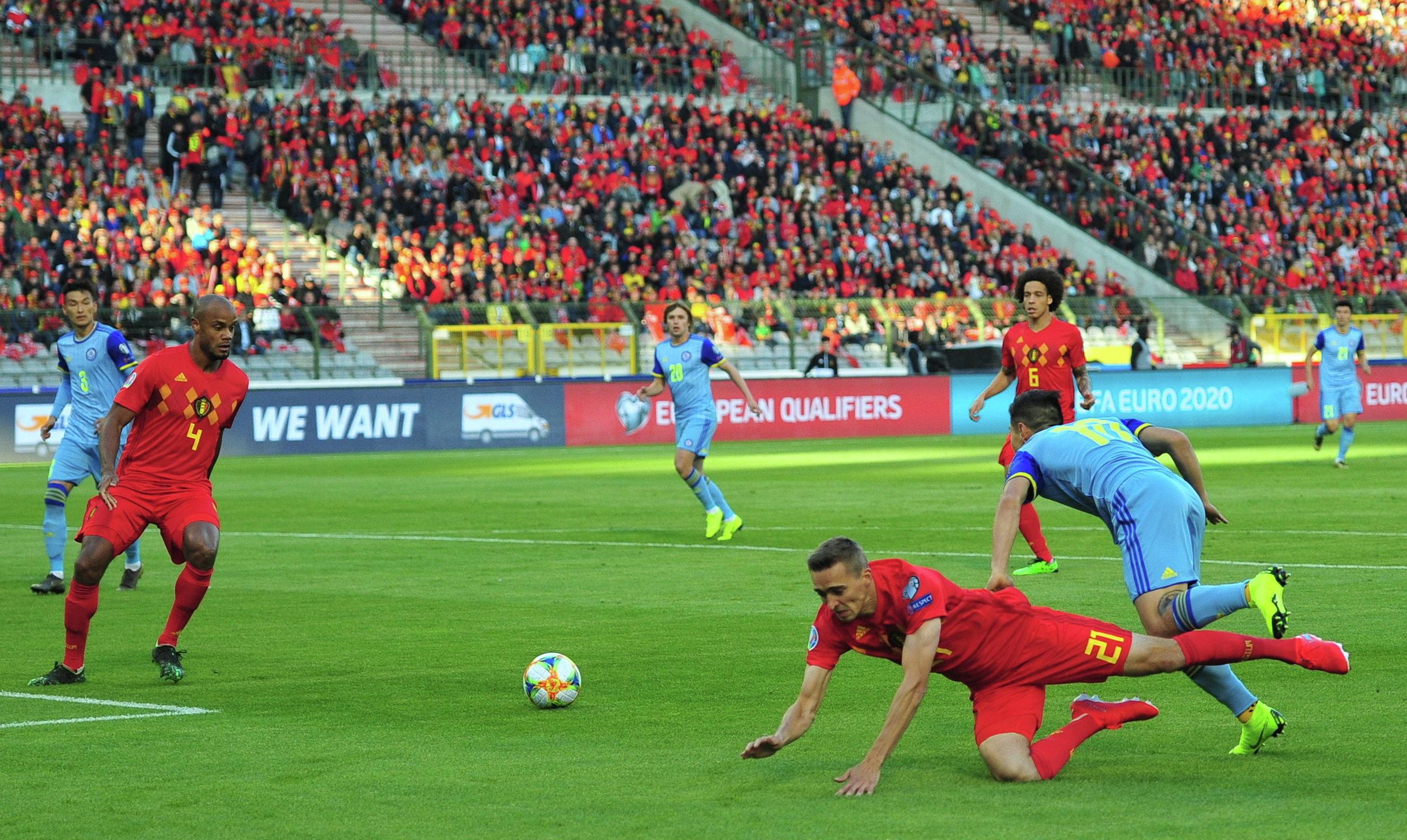 Матч Бельгия - Казахстан