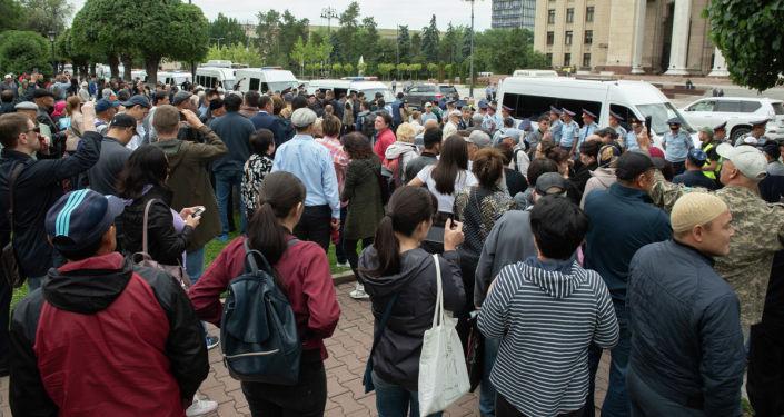Алматыдағы митингілер