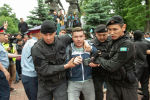 Алматыда журналист Петр Троценко ұсталды