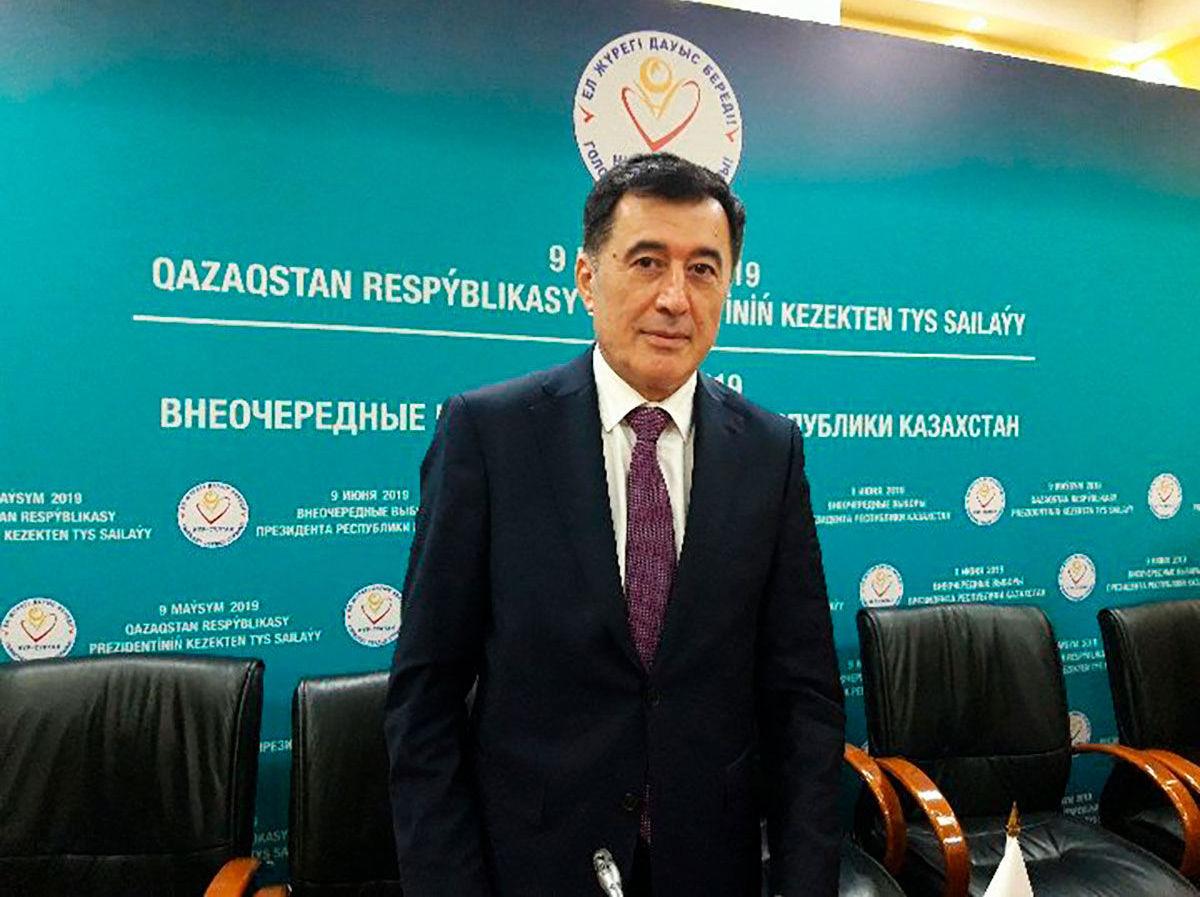 Генеральный секретарь ШОС Владимир Норов