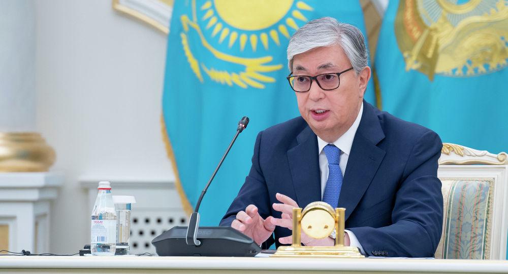 Қасым-Жомарт Тоқаев Ақордада журналистермен кездесті