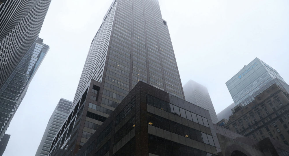 54-этажное здание в Нью-Йорке, на крышу которого упал вертолет
