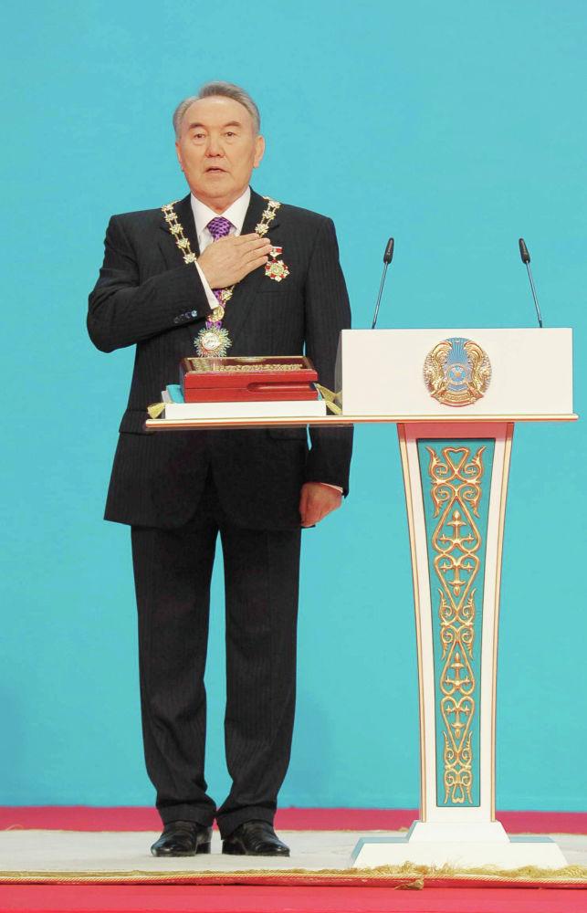 Инаугурация президента Казахстана Нурсултана Назарбаева