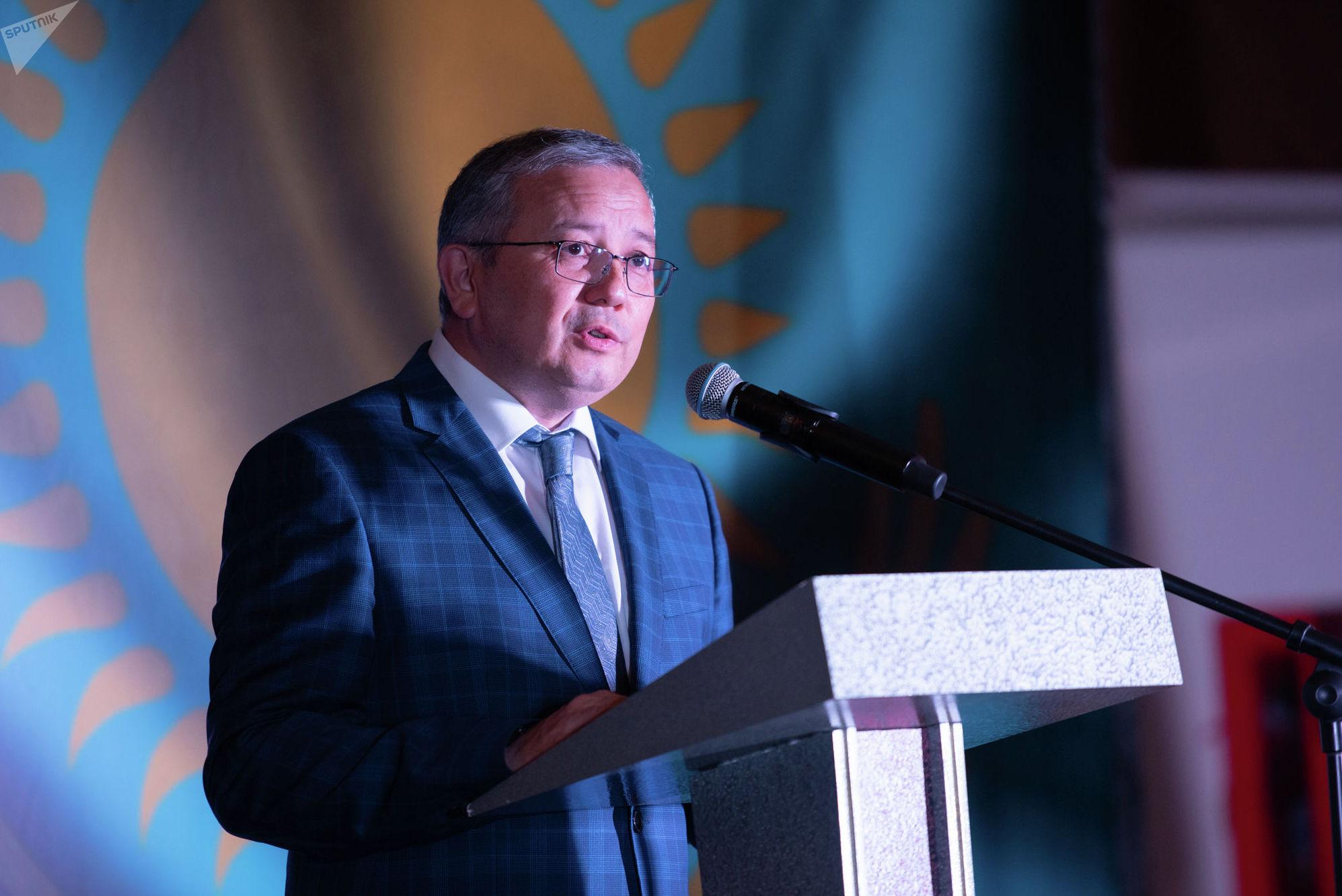 Заместитель министра иностранных дел Казахстана Марат Сыздыков