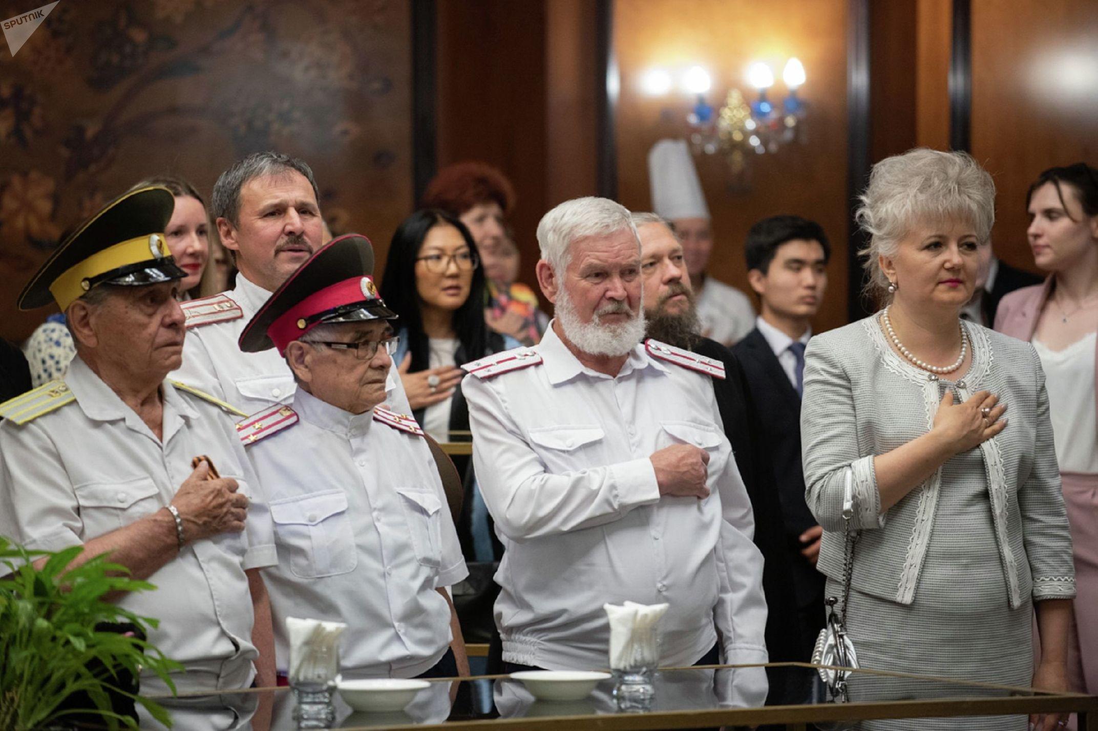 Прием в честь Дня России в генеральном консульстве РФ в Алматы