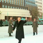 Вторая церемония инаугурации прошла в Конгресс-Холле Астаны 21 января 1999 года, после выборов 10 января 1999 года, в ходе которых Нурсултан Назарбаев набрал около 80% голосов избирателей.