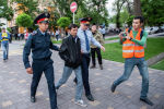 Несанкционированный митинг в Алматы на площади Астана, архивное фото