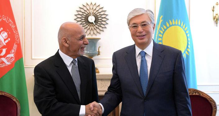 Президент Казахстана Касым-Жомарт Токаев встретился с президентом Афганистана Мохаммадом Ашрафом Гани