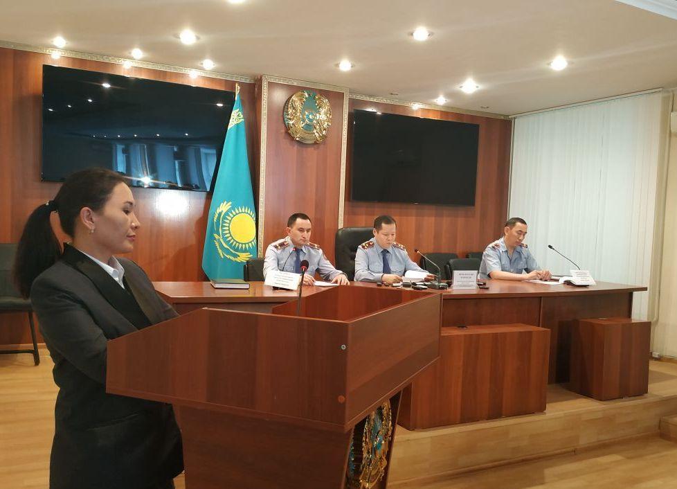 На брифинге департамента полиции  г. Нур-Султана  по факту гибели рабочих в колодце