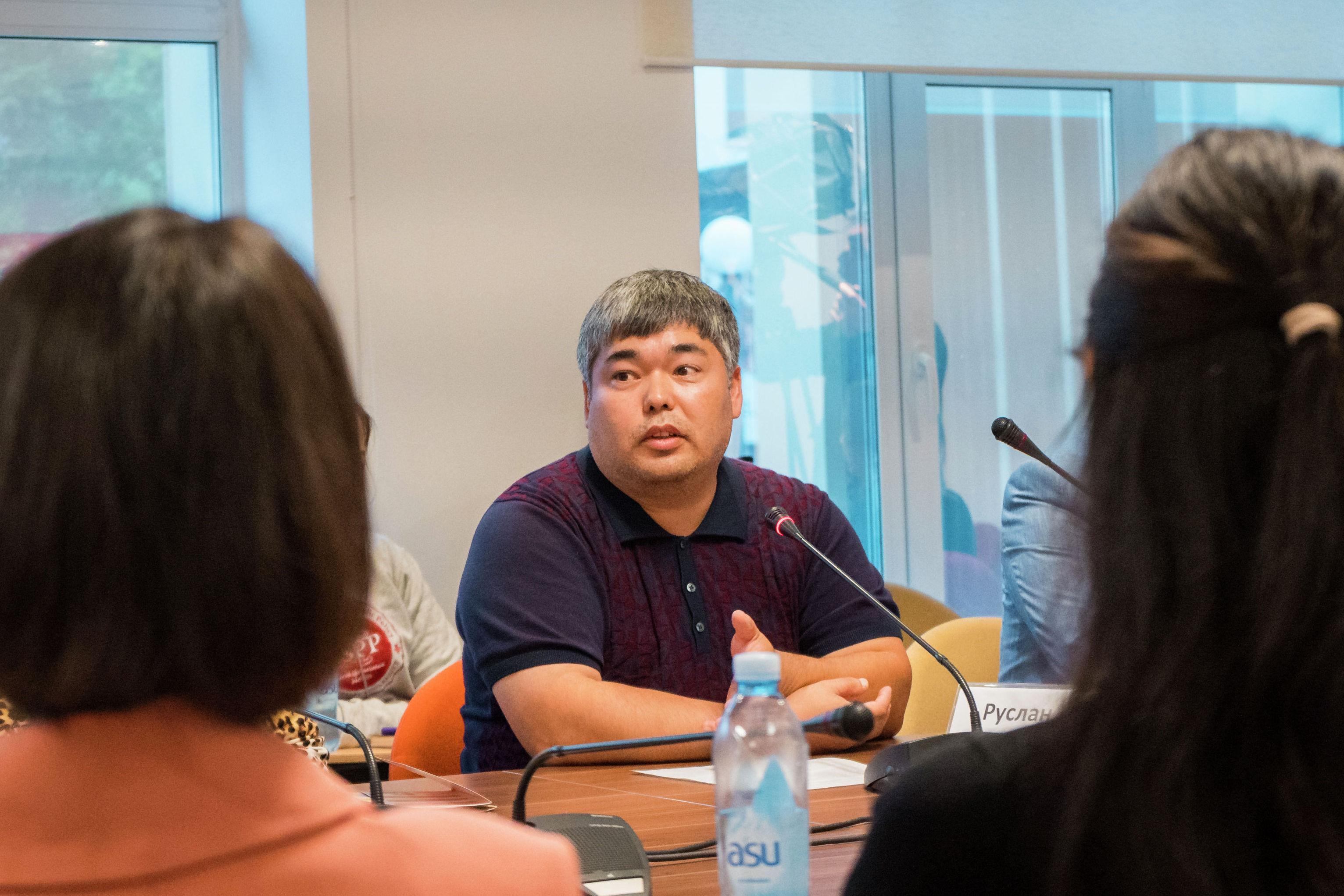 Основатель фонда Аутизм. Доступная среда, заместитель председателя общественного объединения Союз отцов Казахстана Руслан Казыбаев