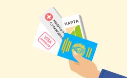 Памятка выезжающим за границу казахстанцам