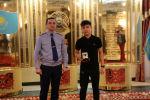 Столичный департамент полиции вручил награду ученику средней школы №27 Дильнуру Амангельдиеву