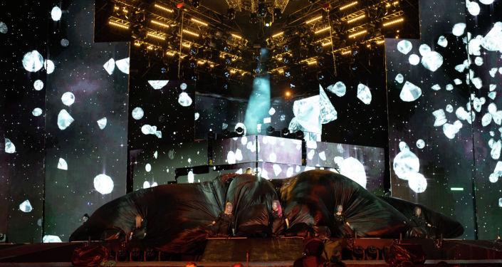 Сцена фестиваля Star of Asia