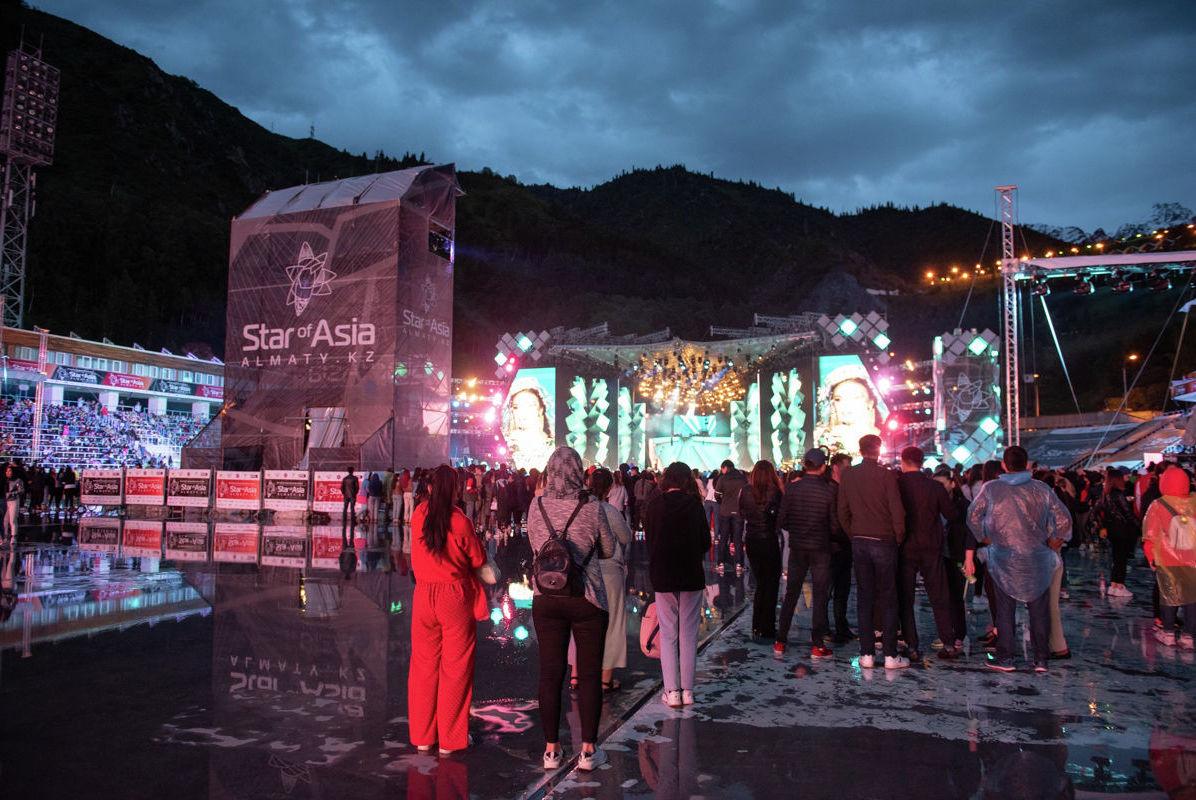 Концертная площадка фестиваля Star of Asia