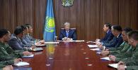 Касым-Жомарт Токаев встретился с руководящим составом Службы государственной охраны