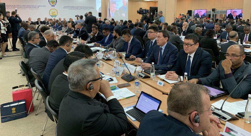 Участие помощника Президента – Секретаря Совета Безопасности Калмуханбета Касымова в десятой международной встрече высоких представителей, курирующих вопросы безопасности