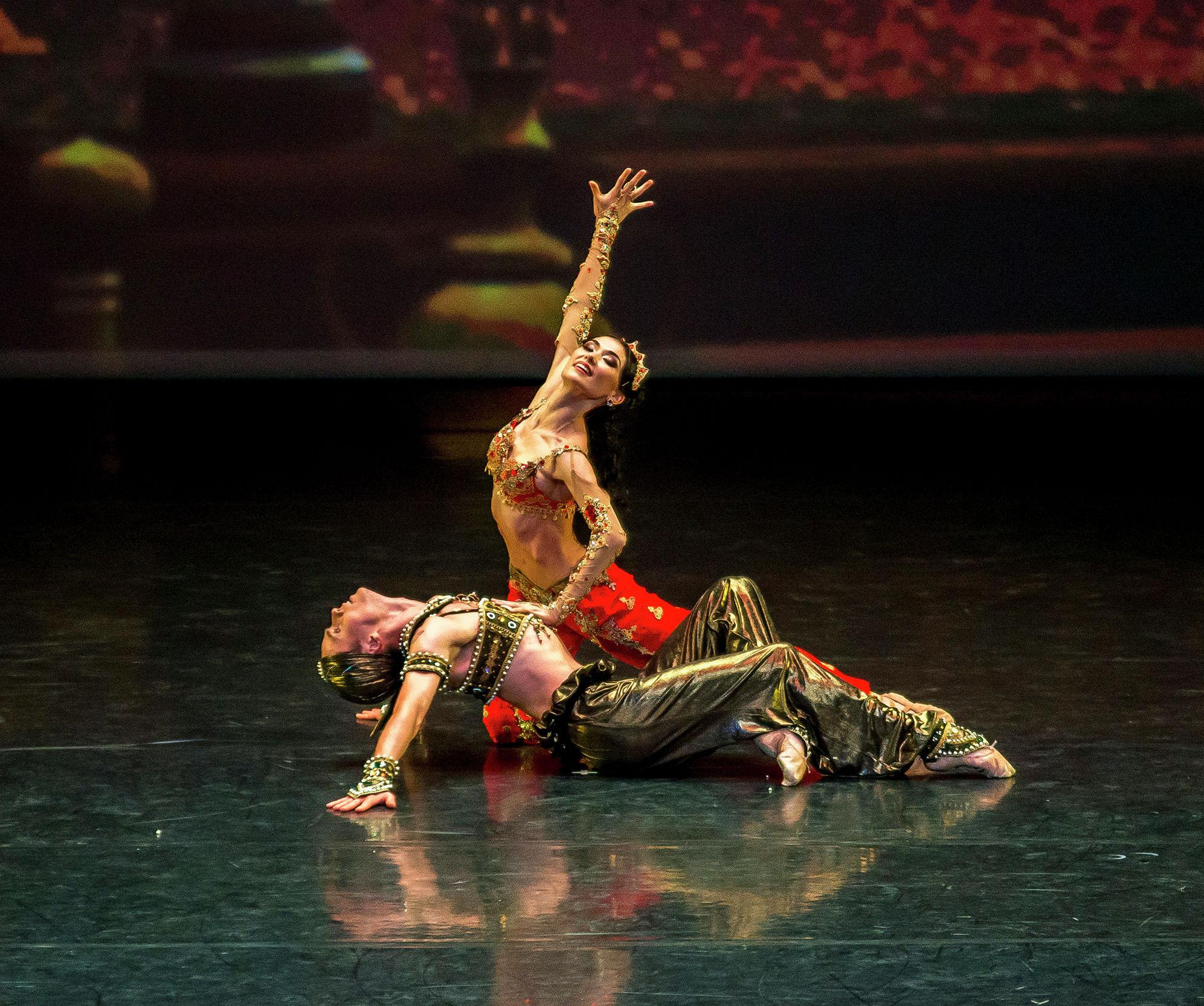 Евразийский фестиваль балетного искусства завершился грандиозным гала-концертом