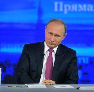 РФ президенті Владимир Путин