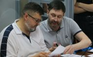 Заседание суда по делу журналиста Кирилла Вышинского в Киеве, архивное фото