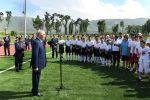 Нурсултан Назарбаев принял участие в церемонии открытия спортивного комплекса Үшқоңыр