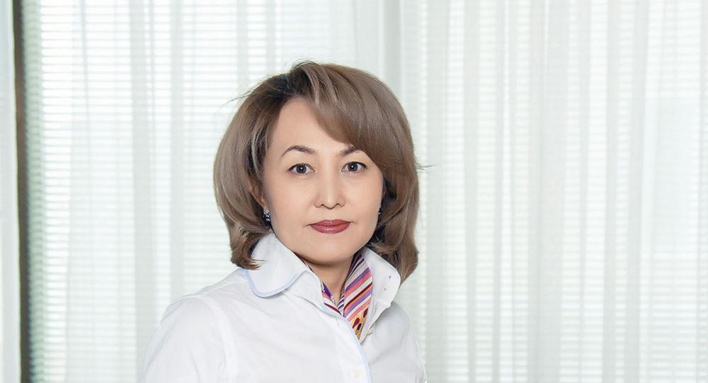 Управляющий директор Фондом медицинского страхования Забира Оразалиева